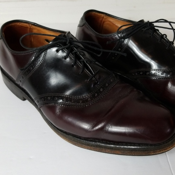 on sale 8da86 8058e Allen Edmonds Shelton Cordovan saddle oxfords